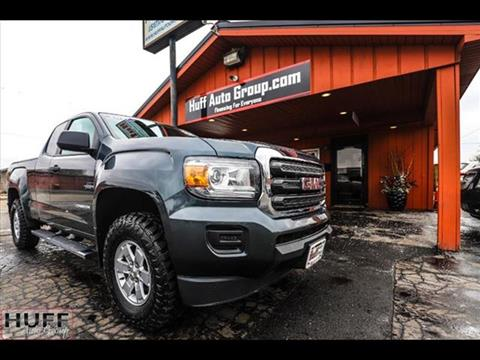 2017 GMC Canyon for sale in Jackson, MI