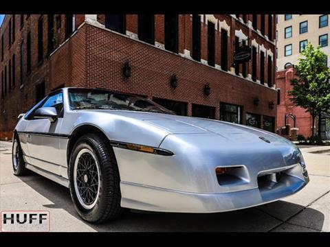 1988 Pontiac Fiero for sale in Jackson, MI