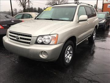 2003 Toyota Highlander for sale at HUFF AUTO GROUP in Jackson MI