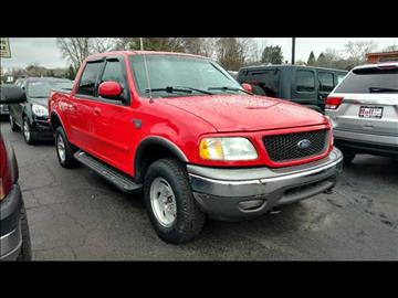 2002 Ford F-150 for sale at HUFF AUTO GROUP in Jackson MI