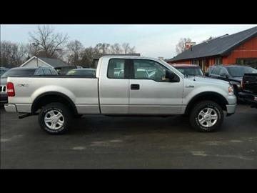2004 Ford F-150 for sale at HUFF AUTO GROUP in Jackson MI