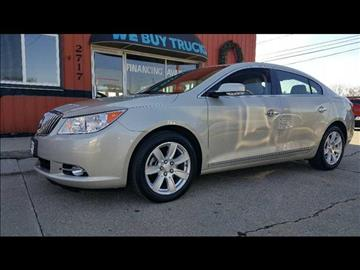2013 Buick LaCrosse for sale at HUFF AUTO GROUP in Jackson MI