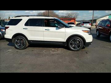 2013 Ford Explorer for sale at HUFF AUTO GROUP in Jackson MI