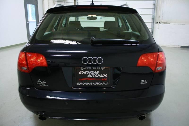 2008 Audi A4 AWD 3.2 Avant quattro 4dr Wagon (3.1L V6 6A) - Holland MI