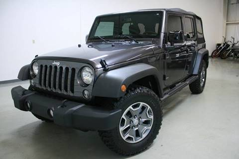 2016 Jeep Wrangler Unlimited for sale in Holland, MI