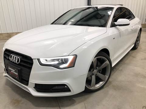 2016 Audi A5 for sale at EUROPEAN AUTOHAUS, LLC in Holland MI