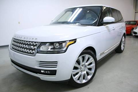 2017 Land Rover Range Rover for sale at EUROPEAN AUTOHAUS, LLC in Holland MI