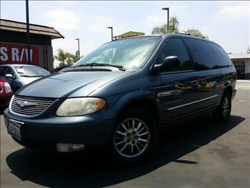 2001 Chrysler Town and Country for sale in National City, CA