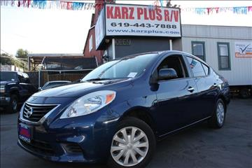 2012 Nissan Versa for sale in National City, CA