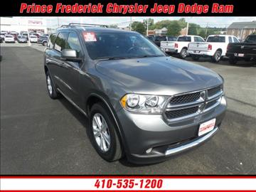 2011 Dodge Durango for sale in Prince Frederick, MD