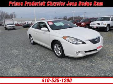 2006 Toyota Camry Solara for sale in Prince Frederick, MD