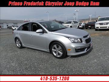 2016 Chevrolet Cruze Limited for sale in Prince Frederick, MD