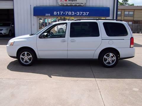 2005 Chevrolet Uplander for sale in Alvarado, TX