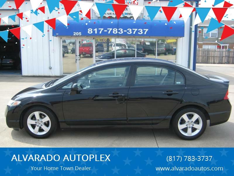 2009 Honda Civic LX S 4dr Sedan 5A   Alvarado TX