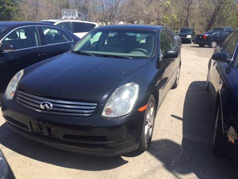 2004 Infiniti G35 for sale at Royal Crest Motors in Haverhill MA