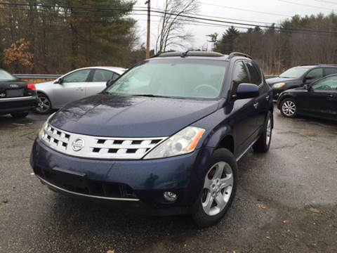 2004 Nissan Murano for sale at Royal Crest Motors in Haverhill MA