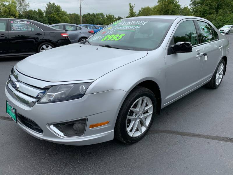 2012 Ford Fusion SEL 4dr Sedan - Delaware OH