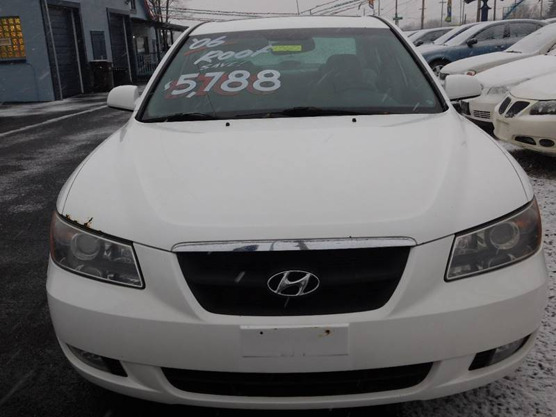 2006 Hyundai Sonata for sale at Best N Value Auto Sales in Akron OH