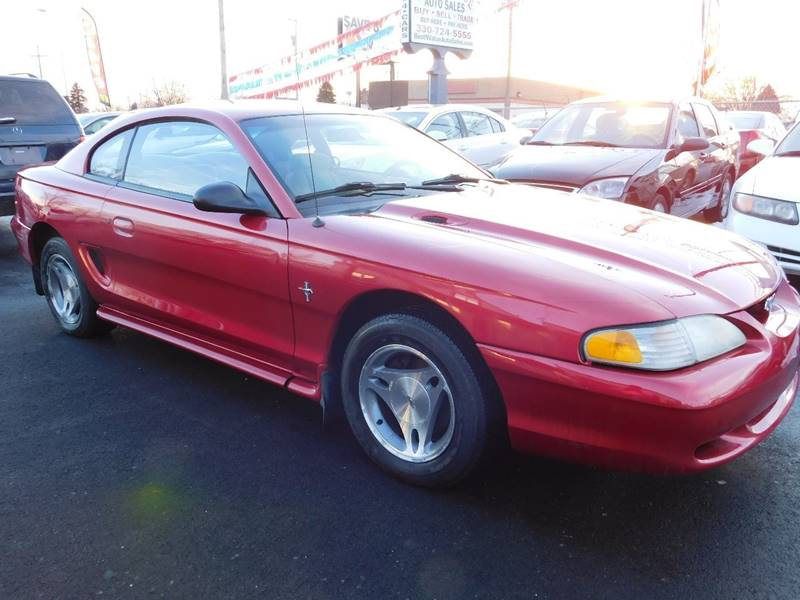 1998 Ford Mustang for sale at Best N Value Auto Sales in Akron OH