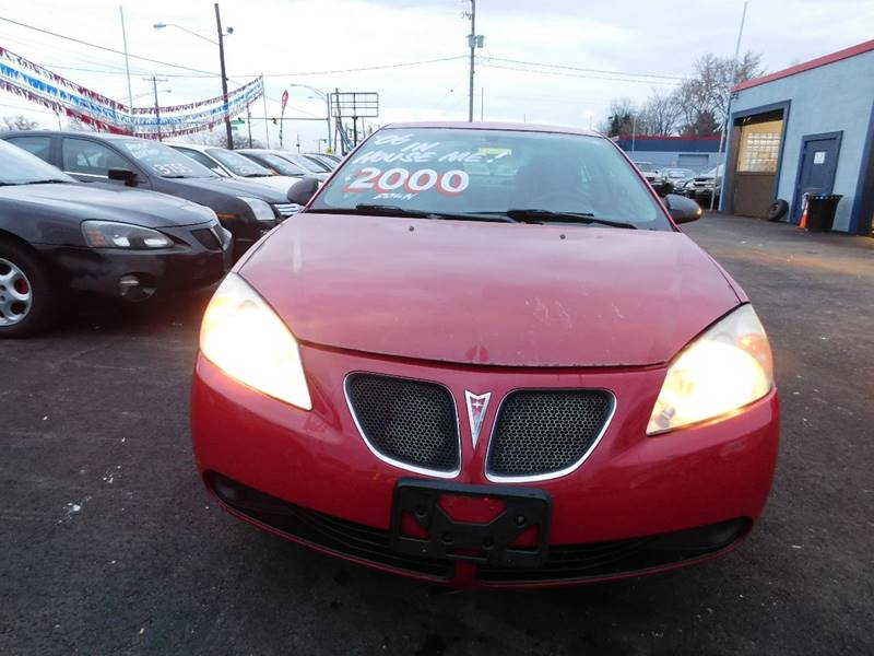 2006 Pontiac G6 for sale at Best N Value Auto Sales in Akron OH