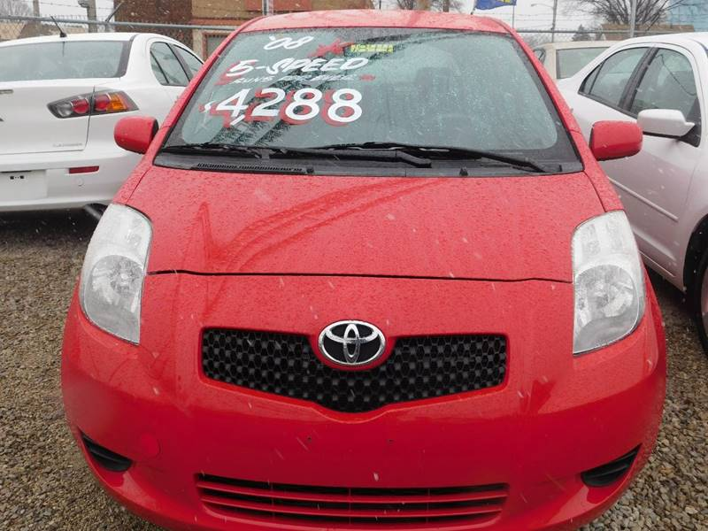 2008 Toyota Yaris for sale at Best N Value Auto Sales in Akron OH