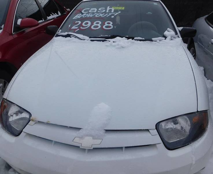 2003 Chevrolet Cavalier for sale at Best N Value Auto Sales in Akron OH