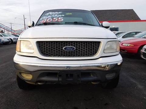 2001 Ford F-150 for sale in Akron, OH