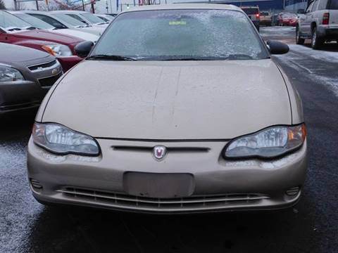 2000 Chevrolet Monte Carlo for sale in Akron, OH