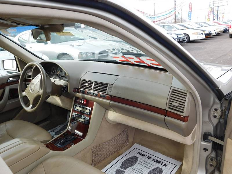 1999 Mercedes-Benz S-Class for sale at Best N Value Auto Sales in Akron OH