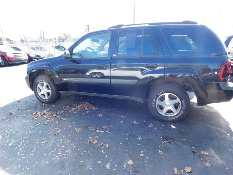2004 Chevrolet TrailBlazer for sale at Best N Value Auto Sales in Akron OH