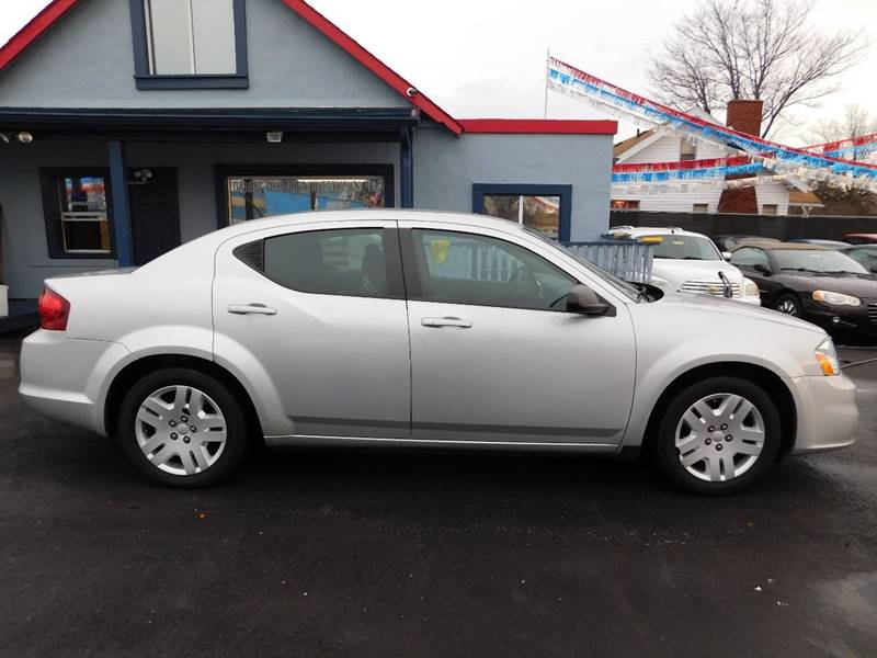 2012 Dodge Avenger for sale at Best N Value Auto Sales in Akron OH