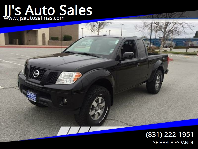 2012 Nissan Frontier For Sale At JJu0027s Auto Sales In Salinas CA