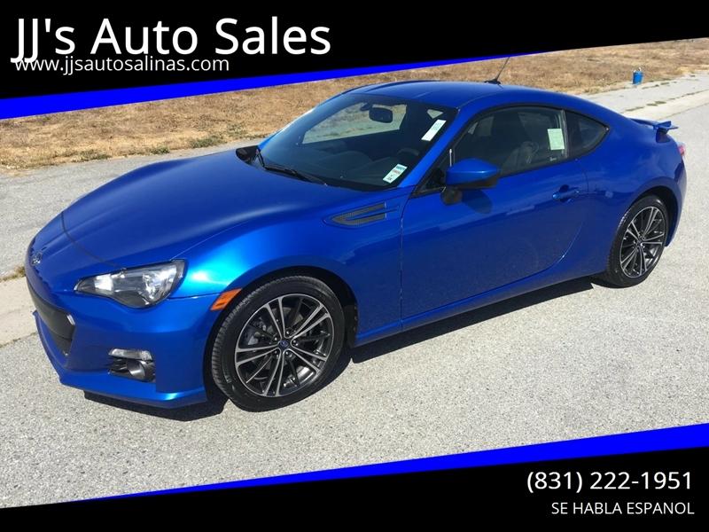 2013 Subaru Brz Limited In Salinas Ca Jj S Auto Sales