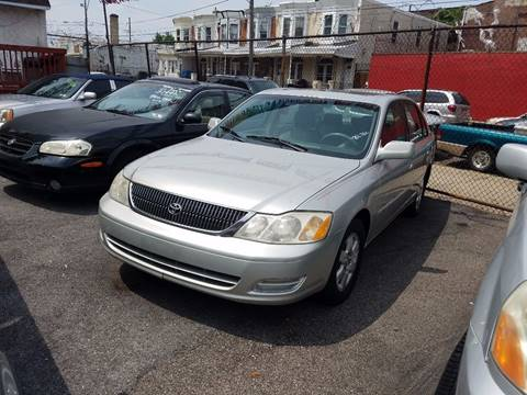 2001 Toyota Avalon for sale at Rockland Auto Sales in Philadelphia PA