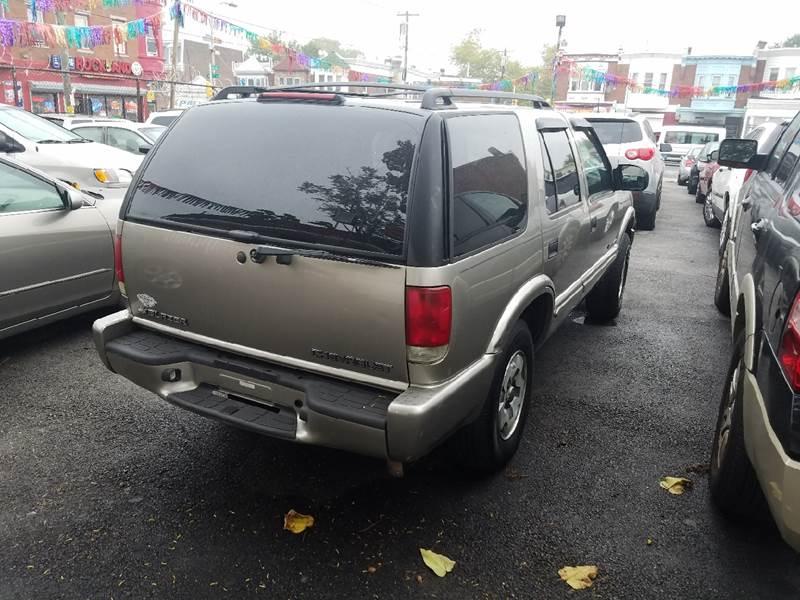 2002 Chevrolet Blazer for sale at Rockland Auto Sales in Philadelphia PA