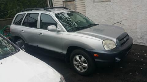 2005 Hyundai Santa Fe for sale at Rockland Auto Sales in Philadelphia PA