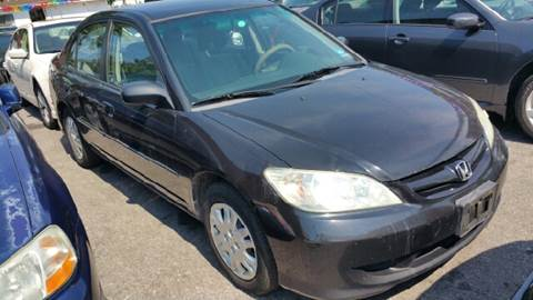 2005 Honda Civic for sale at Rockland Auto Sales in Philadelphia PA