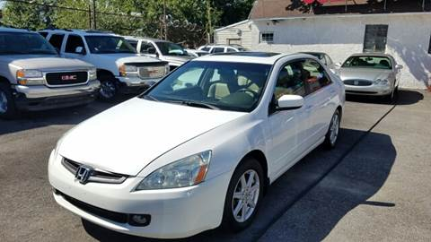 2003 Honda Accord for sale at Rockland Auto Sales in Philadelphia PA