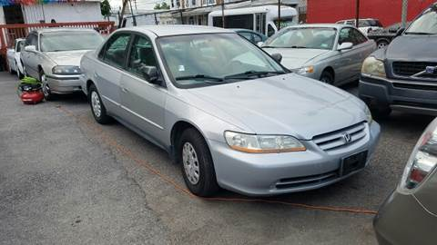 2001 Honda Accord for sale at Rockland Auto Sales in Philadelphia PA