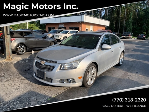 2012 Chevrolet Cruze for sale in Snellville, GA