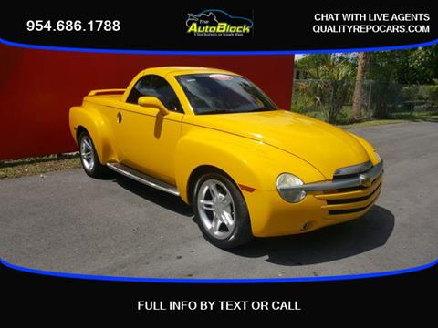 2004 Chevrolet SSR for sale in Fort Lauderdale, FL