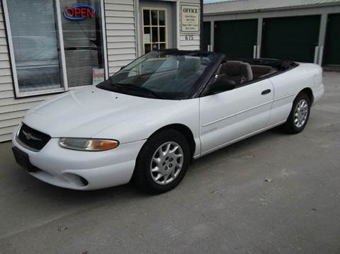 1999 Chrysler Sebring for sale at CHUCK ROGERS AUTO LLC in Tekamah NE