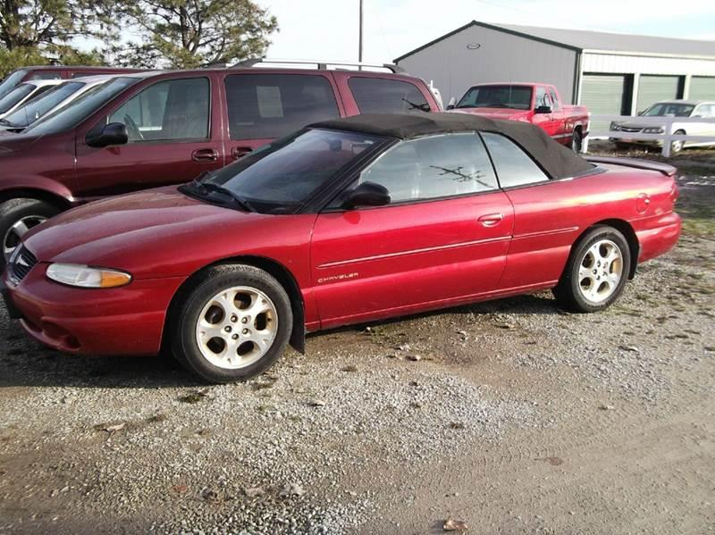 2000 Chrysler Sebring for sale at CHUCK ROGERS AUTO LLC in Tekamah NE