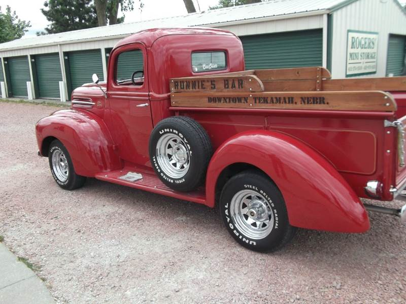 1946 Ford F-100 for sale at CHUCK ROGERS AUTO LLC in Tekamah NE