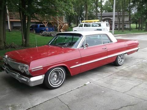 1963 Chevrolet Impala for sale at CHUCK ROGERS AUTO LLC in Tekamah NE