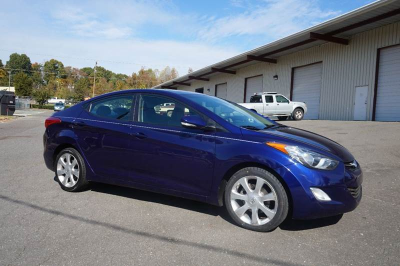2012 Hyundai Elantra for sale at Kevin Powell Motorsports in Winston-Salem NC