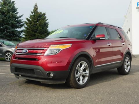 2015 Ford Explorer for sale in Fowlerville, MI