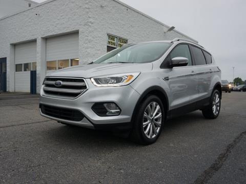 2017 Ford Escape for sale in Fowlerville, MI