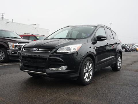 2016 Ford Escape for sale in Fowlerville, MI