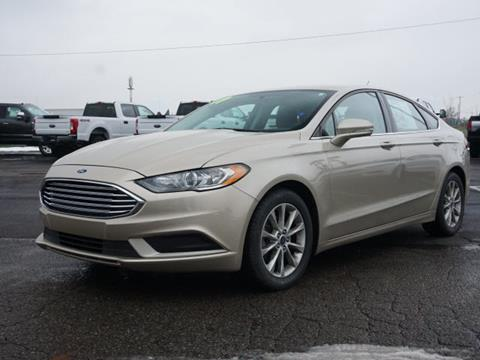 2017 Ford Fusion for sale in Fowlerville, MI